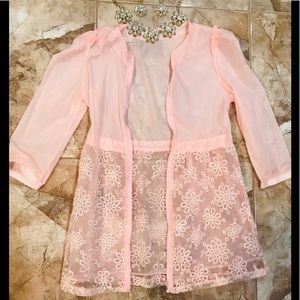 Jackets & Blazers - Dainty Shirt/jacket in pink 🌸